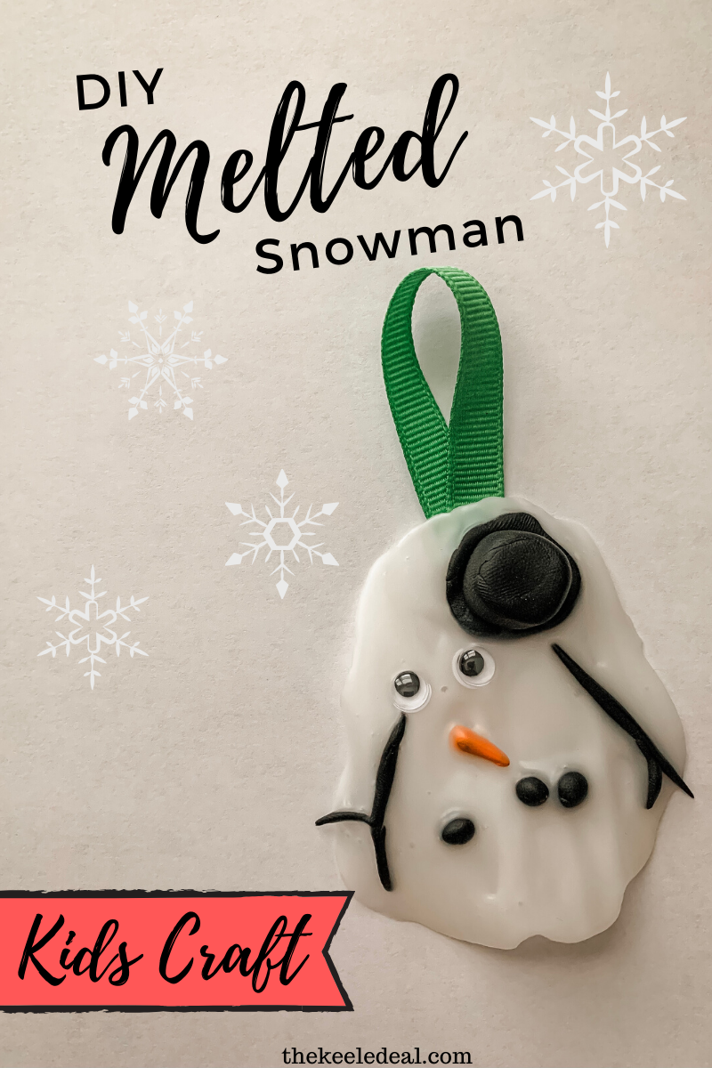 Melted Snowman Ornament Diy Kids Craft Ornaments Diy Kids Melted Snowman Ornament Diy Crafts For Kids