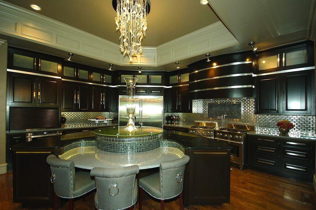 Art Deco Metal Kitchen Cabinets