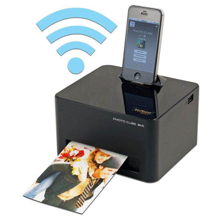 Photo Cube Wifi Printer Endroits à Visiter Pinterest Wifi Printer