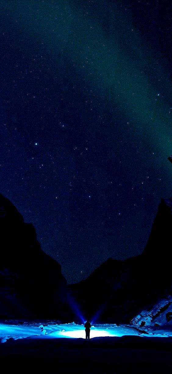 phonewallpaper dark phone wall paper dark Phone Wallpaper Winter dark night mountain