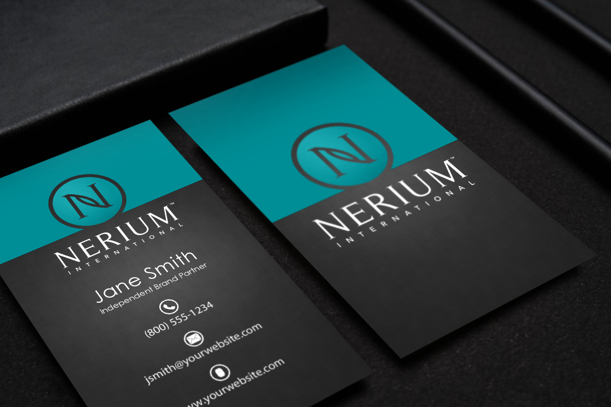 We Have Brand New Business Cards For Nerium Brand Partners Mlm Nerium Print Paper Graphicdesign Printing Business Cards Free Business Cards Contact Card