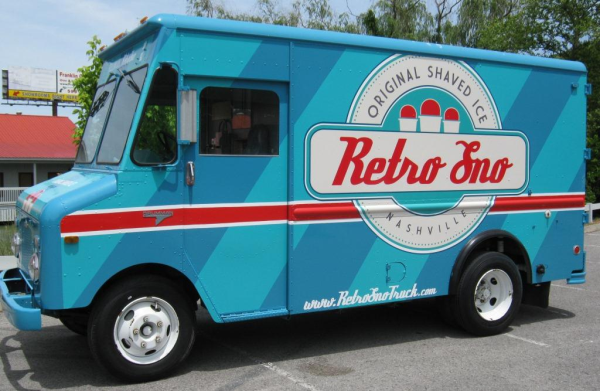Retro Food Truck Vinyl Wrap Graphics Good Ideas Food