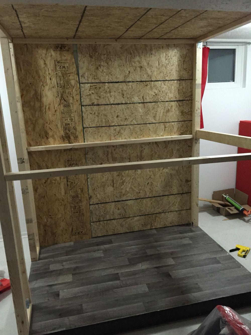 1 wall up | office home in 2019 | Studio build, Home studio