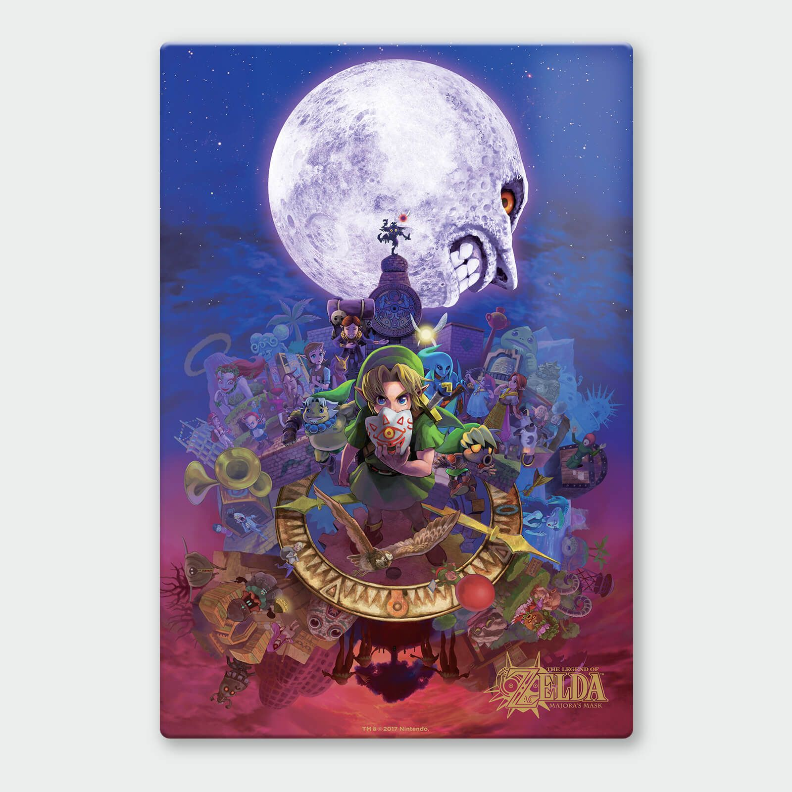 1 of  3 Set Huge Poster 34 in x 22 in - Amazing Majoras Mask New