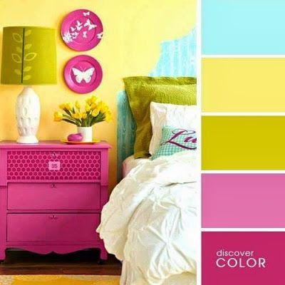Schreckliche Einrichtung u2013 schöne Farben Nice Colors Pinterest - schöne schlafzimmer farben