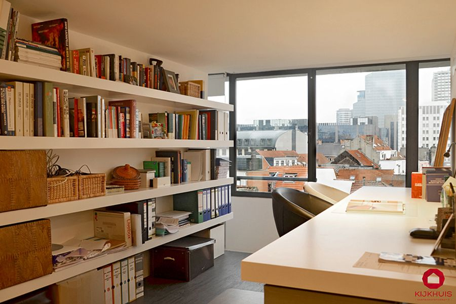 Bureau loft in brussel door kijkhuis interior photography