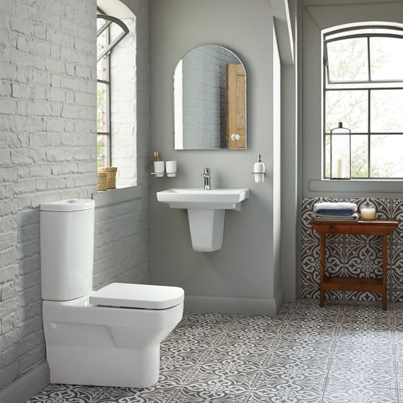 Rowan Close Coupled Wc With Soft Close Seat | bathstore