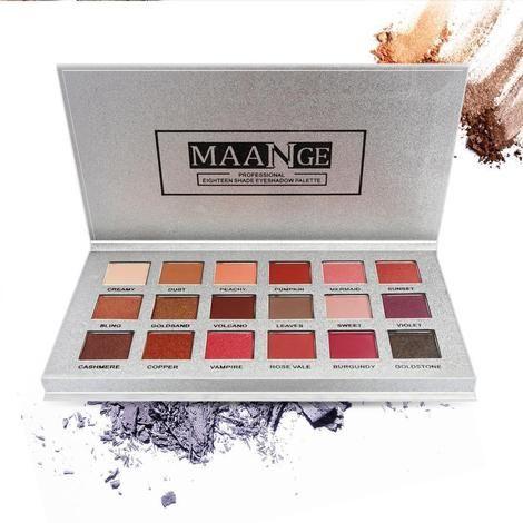 Photo of Maange 18 Rose Gold Eyeshadow Kit