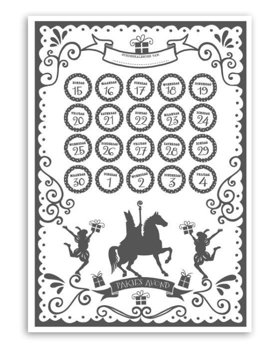 Sint Printable Brief - Gratis printables van Printcandy
