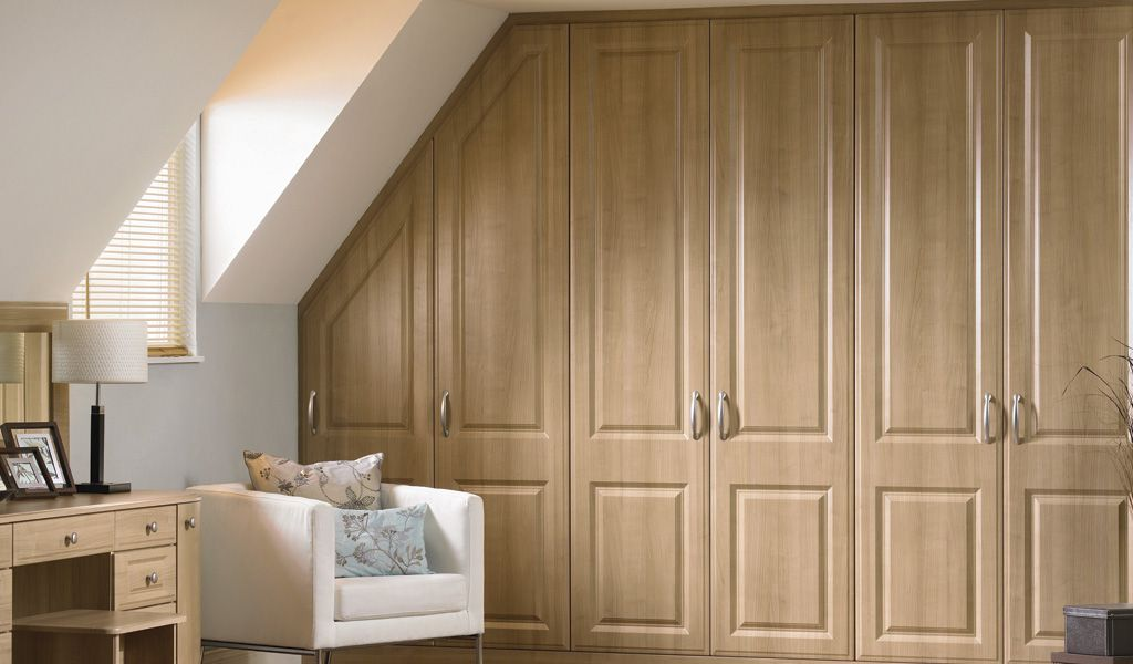loft bedroom fitted wardrobes - Fitted Bedroom Design