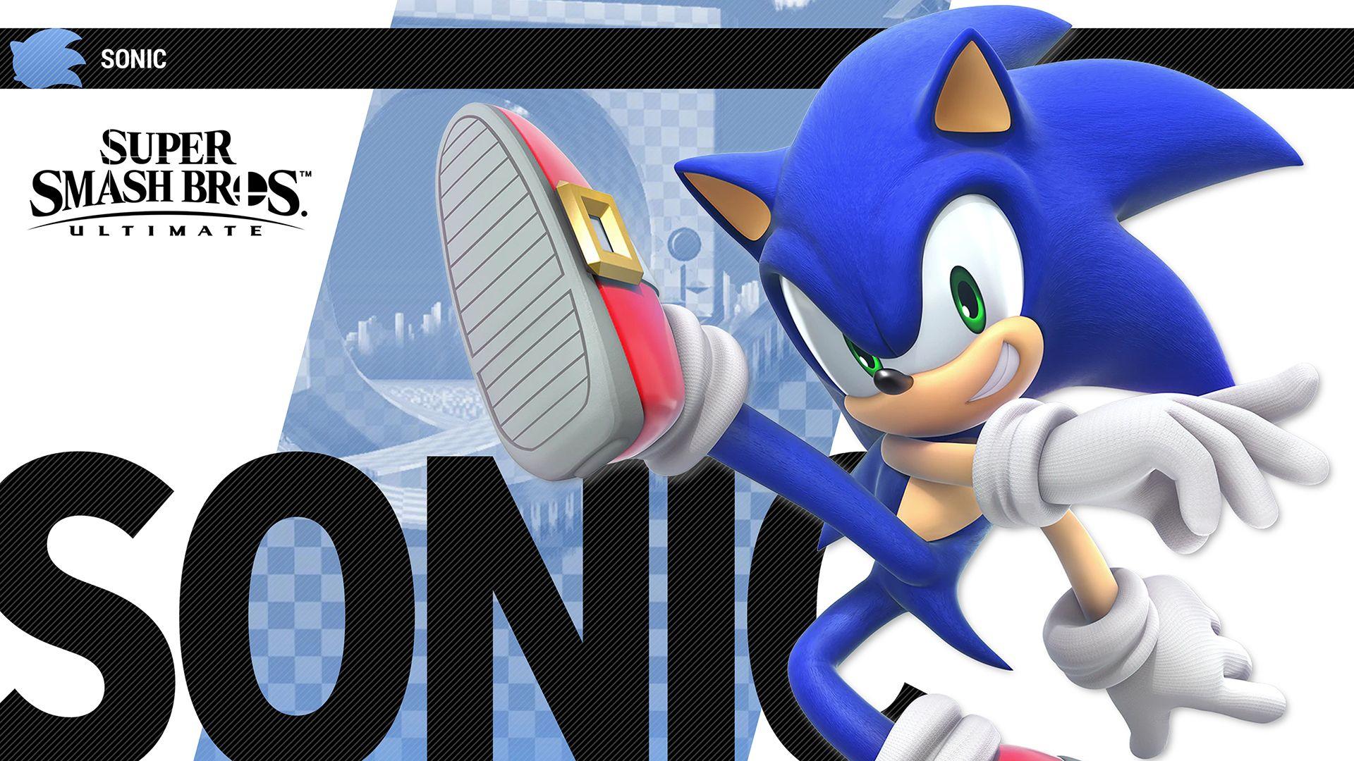 Sonic The Hedgehog Smash Bros Super Smash Bros Nintendo Switch System