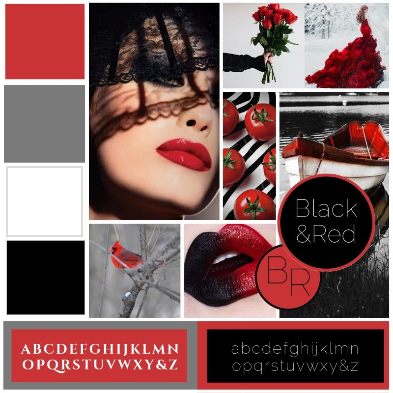 Black And Red Aesthetic Pinterest