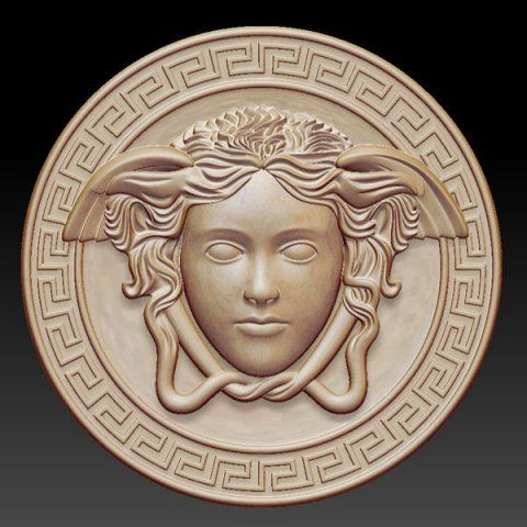 Gorgon Medusa Bas Relief Relief Sculpture Pinterest