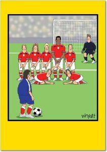 Soccer Balls Birthday Joke Greeting Card By Nobleworks 2 95 Do You Need To Send Someone A Funny Ca Birthday Jokes Funny Birthday Cards Funny Christmas Cards
