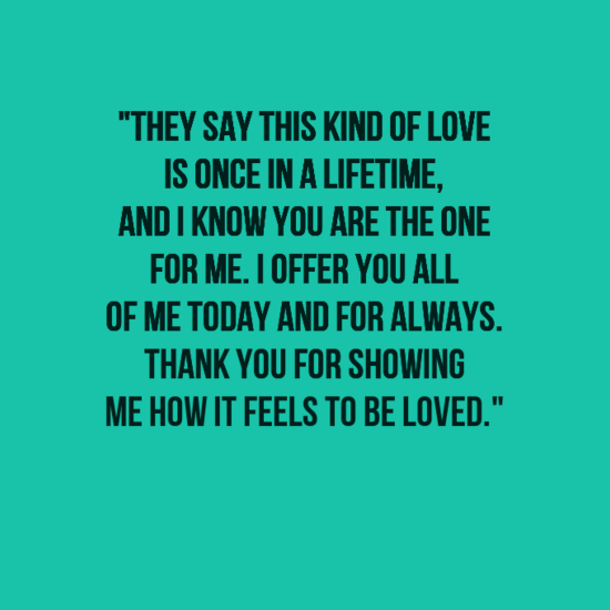 unique love quotes for him