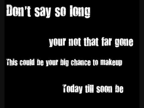 Gone-Switchfoot Lyrics