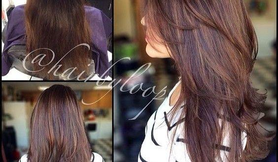 Długie I średnie Włosy Cieniowane Z Grzywką Lub Bez Grzywki