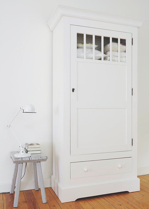 Lackierter Schrank im Schlafzimmer Alpina Lacke Pinterest