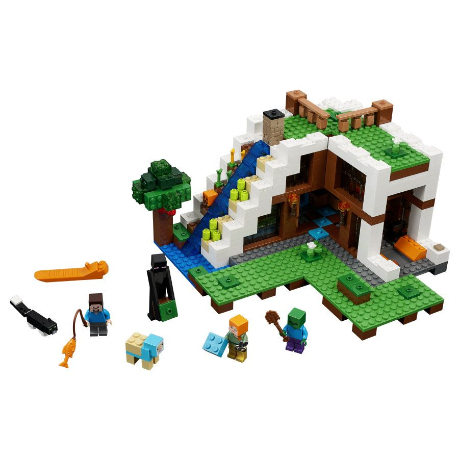 Risultati Immagini Per Minecraft Lego Mincraft Pinterest 21133 The Witch Hut