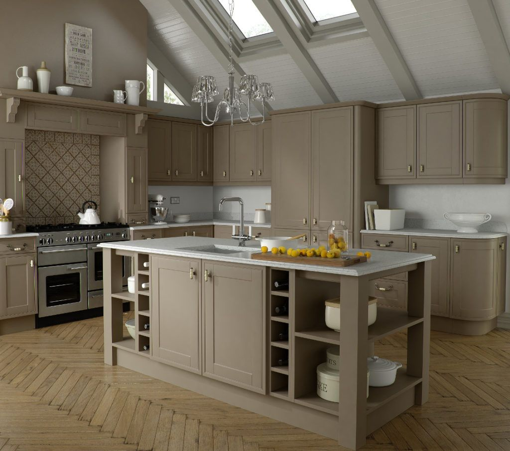 Ruskin Stone Grey Kitchens Direct NI Top Kitchens Summer - Stone grey kitchen cabinets