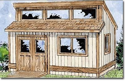 shed roof house plans sheds building plans we have the best - Storage Shed House