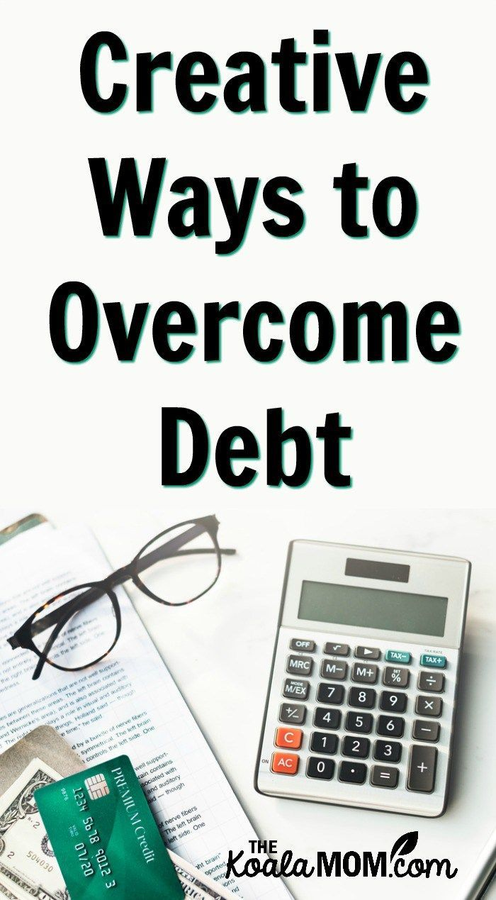 Creative Ways to Debt Making a budget, Debt
