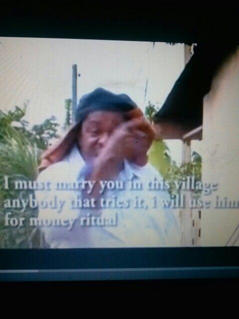 African joke.