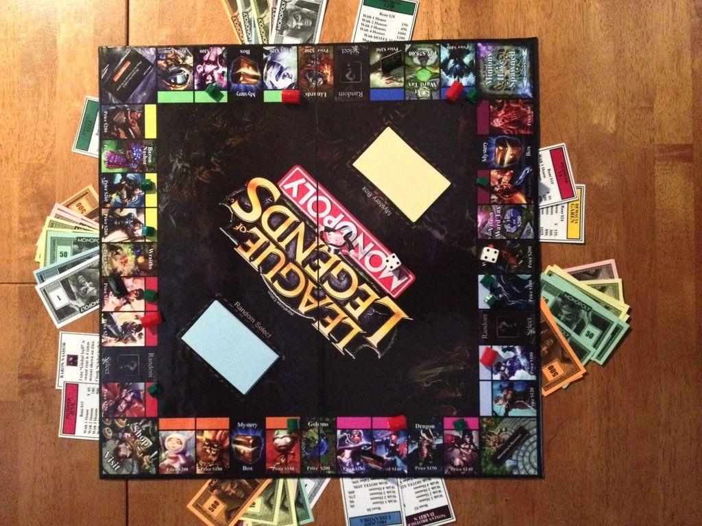 League of Legends Monopoly Imgur