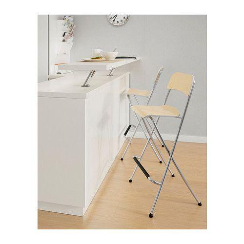 Franklin taburete bar plegable 74 cm ikea nave 3 pinterest bar stools stool and ikea - Taburete bar plegable ...