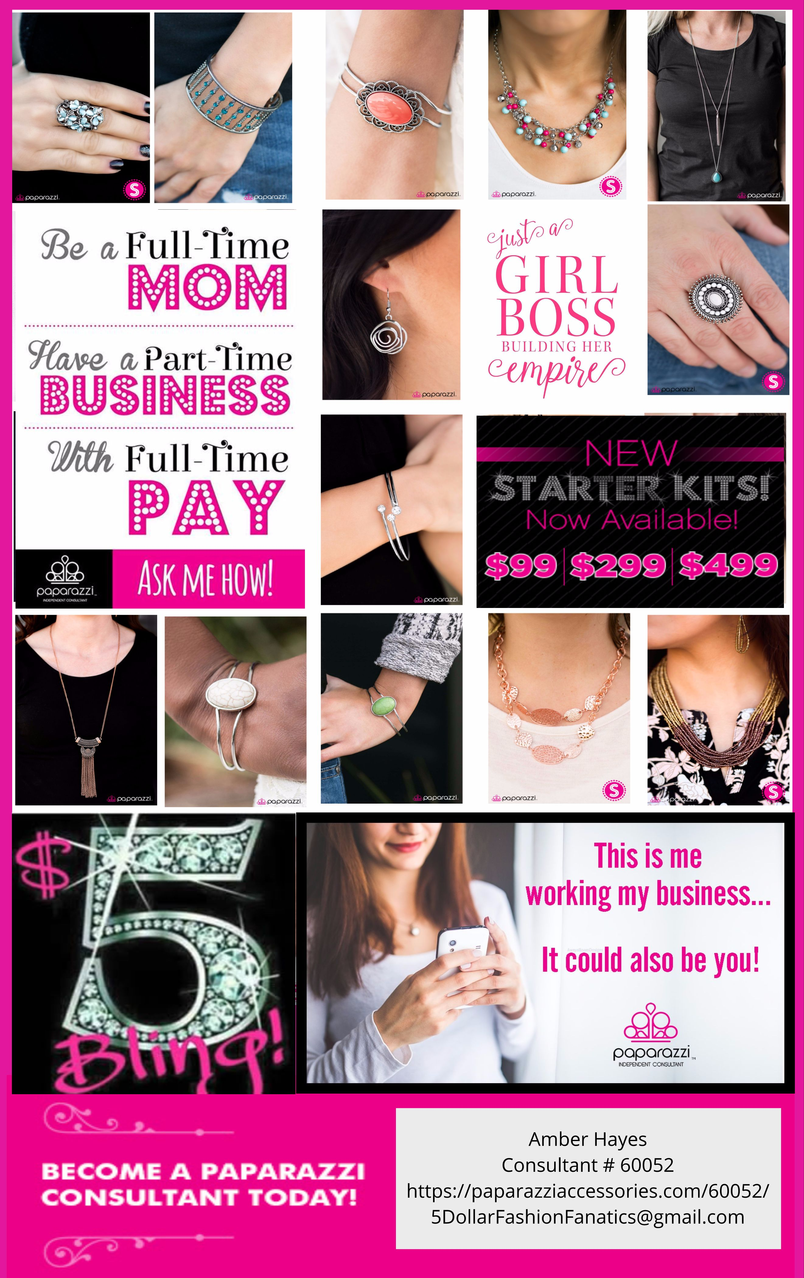 Paparazzi Jewelry Advertising