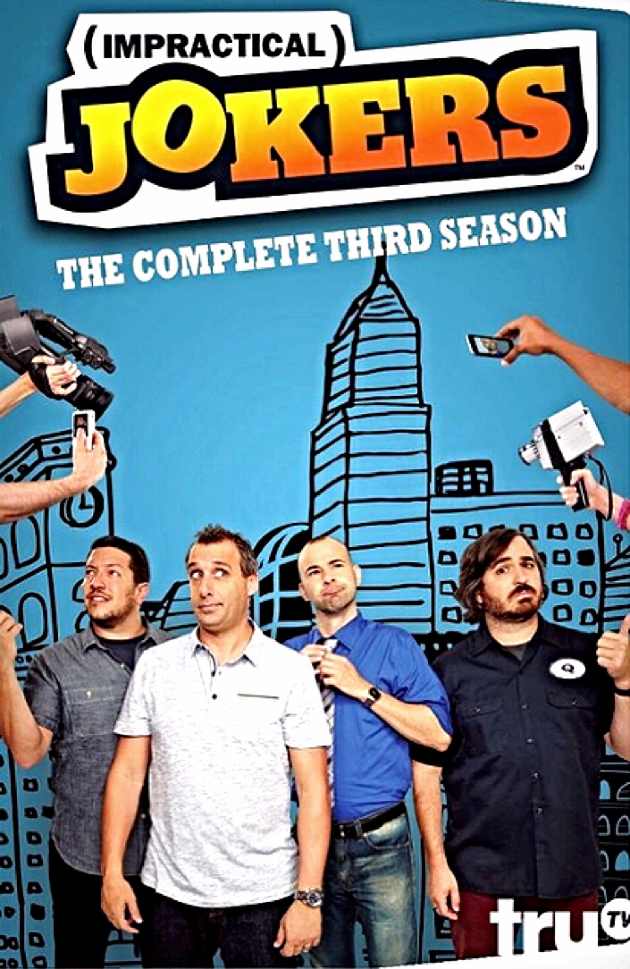 Impractical Jokers complete season three dvd Impractical