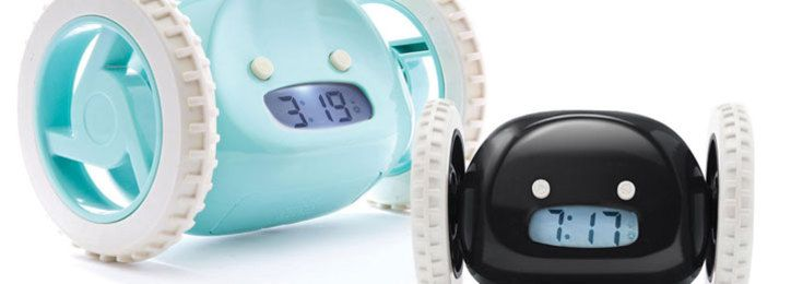 $20 Clocky Rolling Alarm Clock PLUS Complimentary Shipping (45 Dollar  Value) (56%