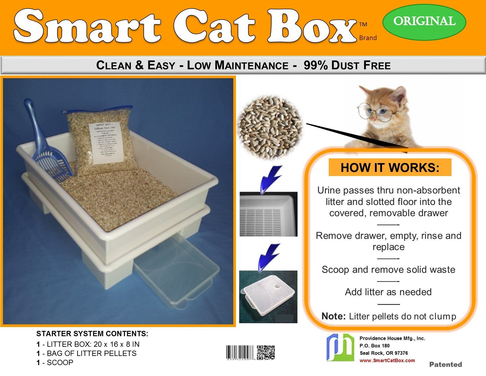 SMARTCATBOXStarterKit in 2020 Cat litter box, Cat