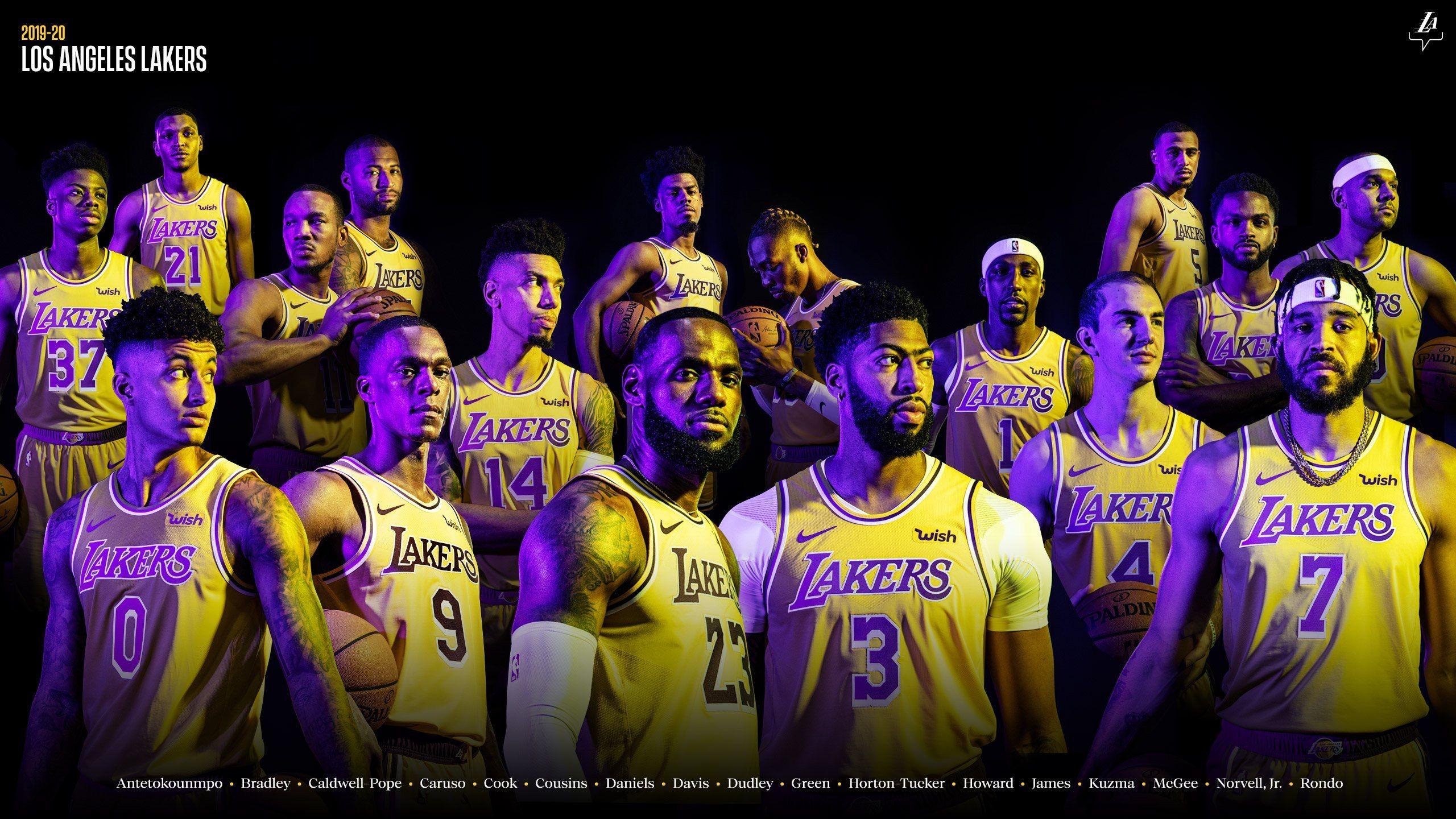 Los Angeles Lakers 20192020 Lakers wallpaper, Los