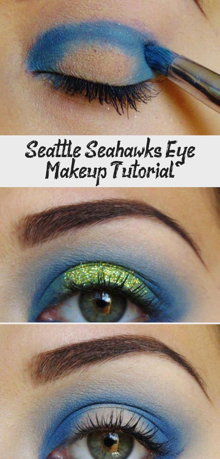 Seattle Seahawks Eye Makeup Tutorial Eye Makeup