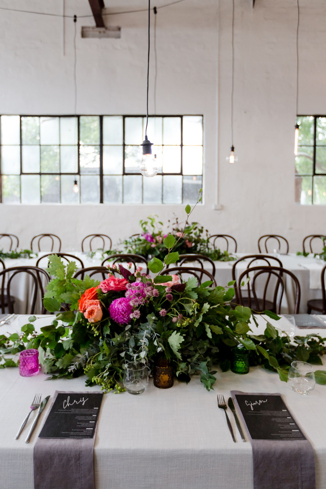 DUO events Creative Studio Summer Wedding Warehouse