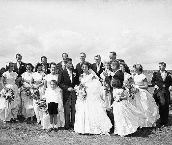 John & Jackie Kennedy 1953
