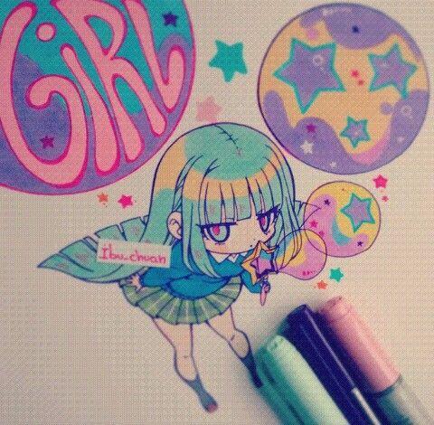 dessin manga instagram
