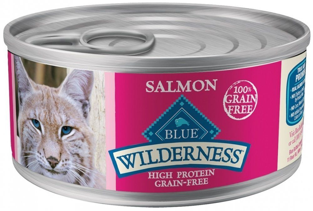 Wilderness Cat Salmon 24 5 5oz For More Information Visit Image Link This Is An Affiliate Link Catfood Canned Cat Food Cat Food Blue Buffalo