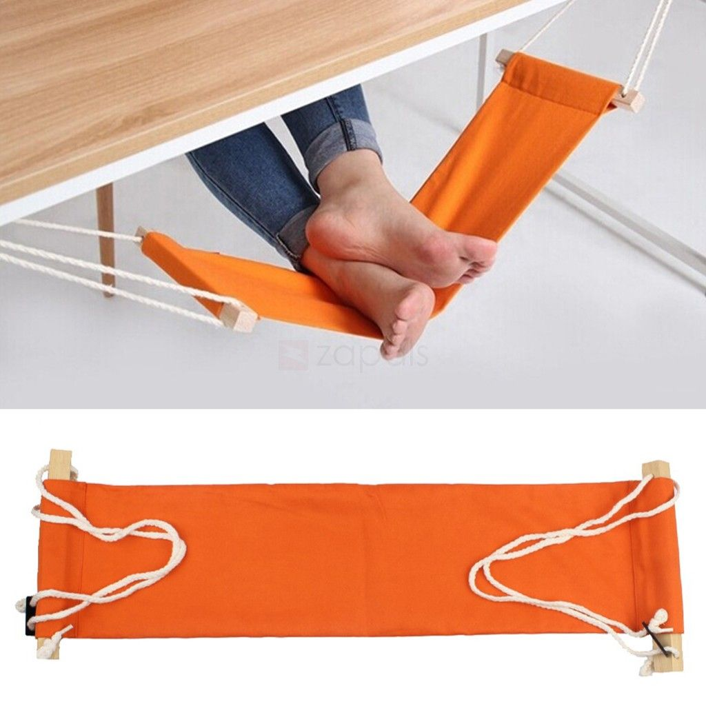 Mini Foot Hammock Office Home Under Desk Foot Rest It Is Made Of Canvas So You Get To Feel Absolute Pleasure While Relaxing Your Foot Rest Hammock Diy Hammock