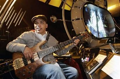 Rickey Minor - bringing the bass out front