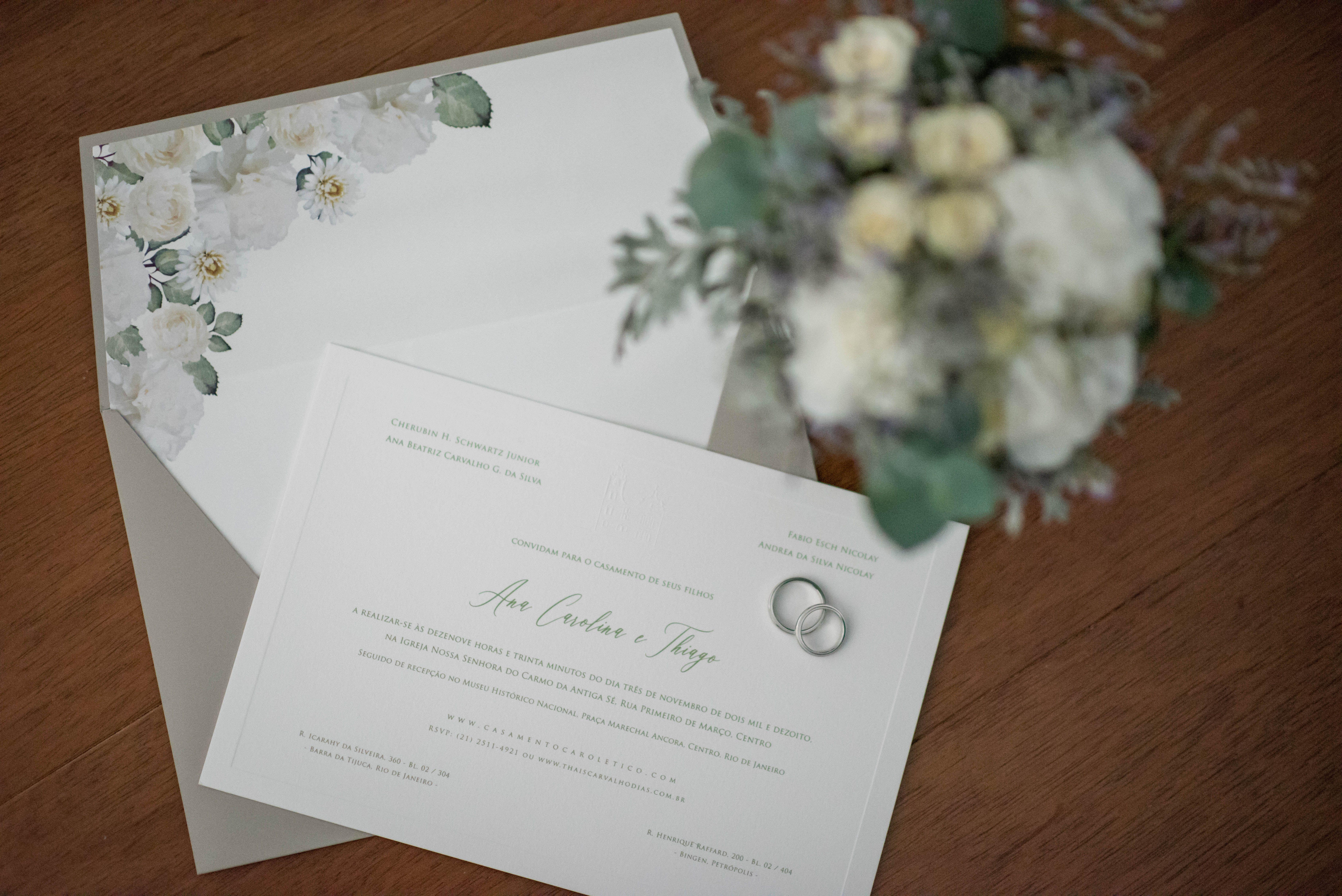 Casamento Classico No Rio De Janeiro Ana Carolina E Thiago