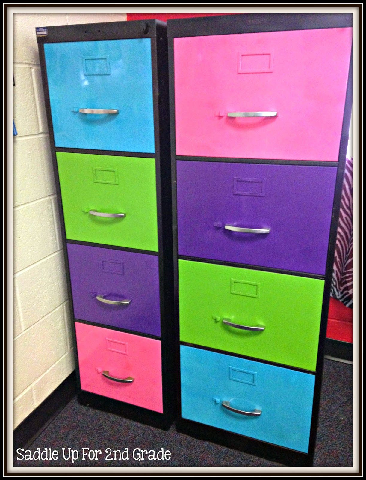 Made It Monday Filing Cabinet Makeover Filing Cabinet File Cabinet Makeover Cabinet Makeover