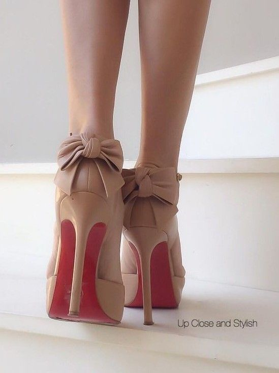#summer #trending #womens #shoes   back Bowed Loubs