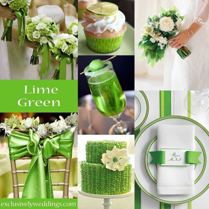 Your wedding color story part 2 exclusively weddings lime green lime green wedding color 2013g 808808 pixels junglespirit Images