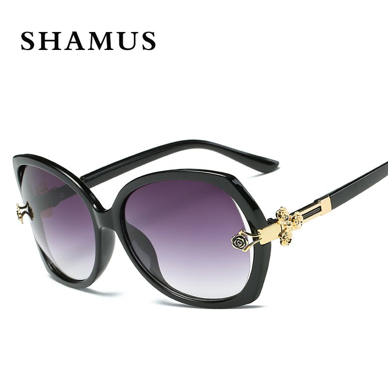 SHAMUS CR 39 gafas de Sol de Moda UV400 gafas de Sol Negras de la ...