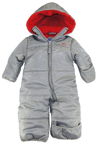 993f82c35f1f iXtreme Baby Boys Infant One Piece Solid Snowsuit