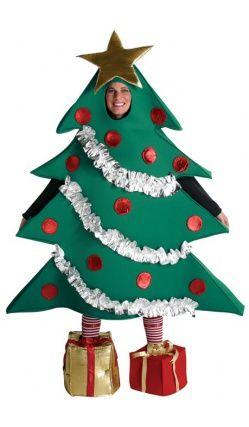 Deguisement Sapin De Noel Femme Épinglé sur Déguisement Noël