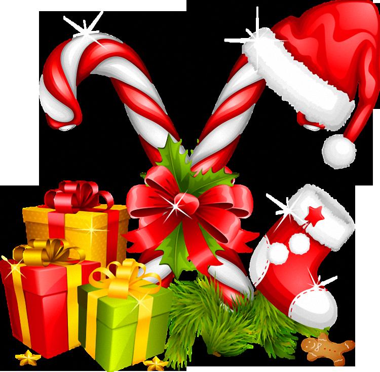 Christmas Decorations Candy Canes Classy Santa Hat Gifts And Candy Canes Christmas Decoration  Moreheads Decorating Design