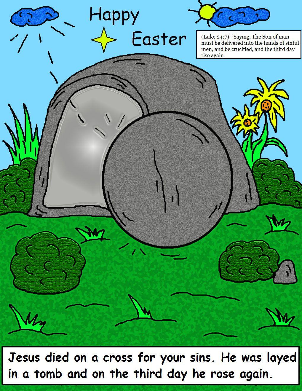 Free Sunday School Clip Art | Easter Sunday School Lesson | Sunday ...